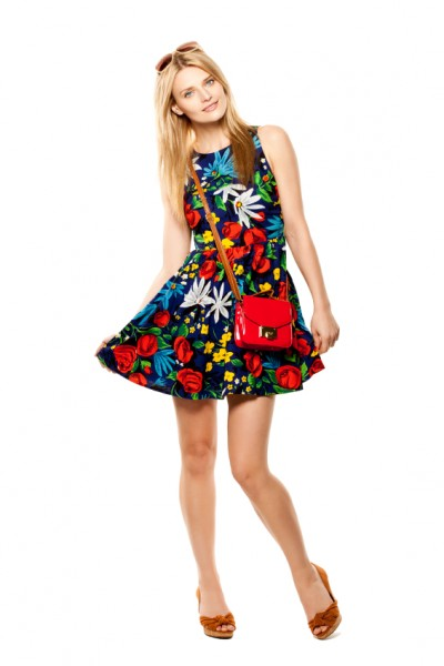 Strandkleid Flower Power