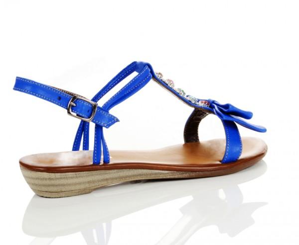Sommer Sandale Ocean Blue