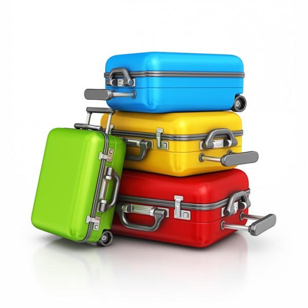 Reisekoffer, in mehreren Farben