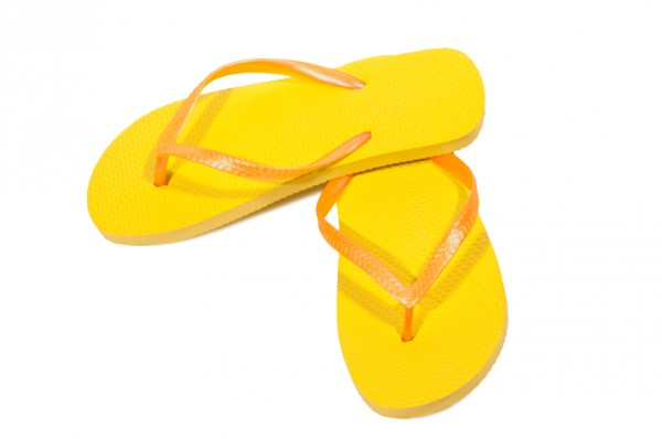 Flip Flop Sunshine Yellow