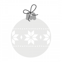 Christmas Bulb Glass
